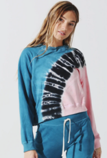 Electric & Rose Electric & Rose Ronan Pullover - Crest Wash