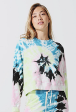 Electric & Rose Electric & Rose Ronan Pullover -Wave Wash