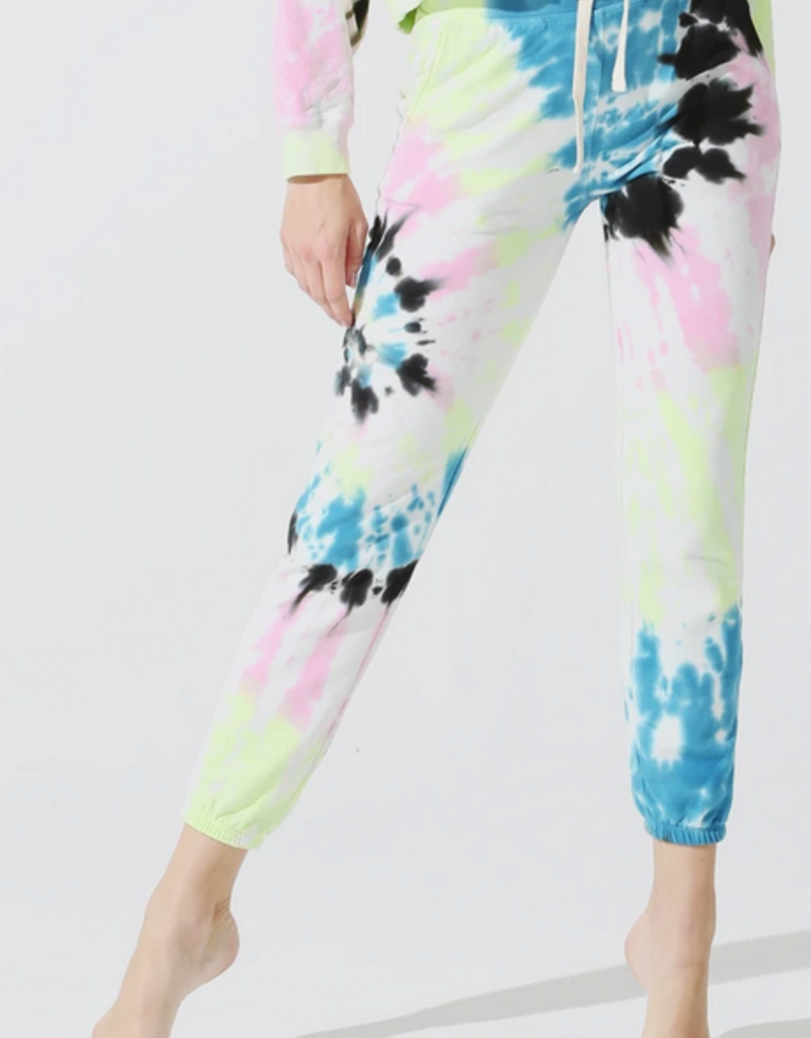 Electric & Rose Electric & Rose Vendimia Jogger - Wave Wash