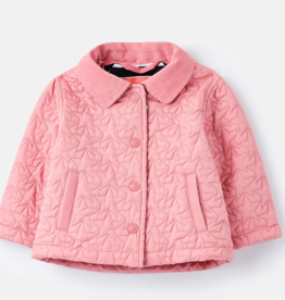 Joules Joules Girl's Mabel Star Quilted Coat