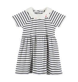 Petit Bateau Petit Bateau Baby Girl Meghane SS Striped Dress