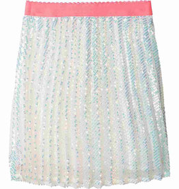 Billieblush Billieblush Pleated Sequin Skirt