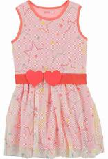 Billieblush Billieblush Sleeveless Star Pattern Dress