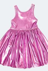 Pink Chicken Pink Chicken Liza Lame Dress