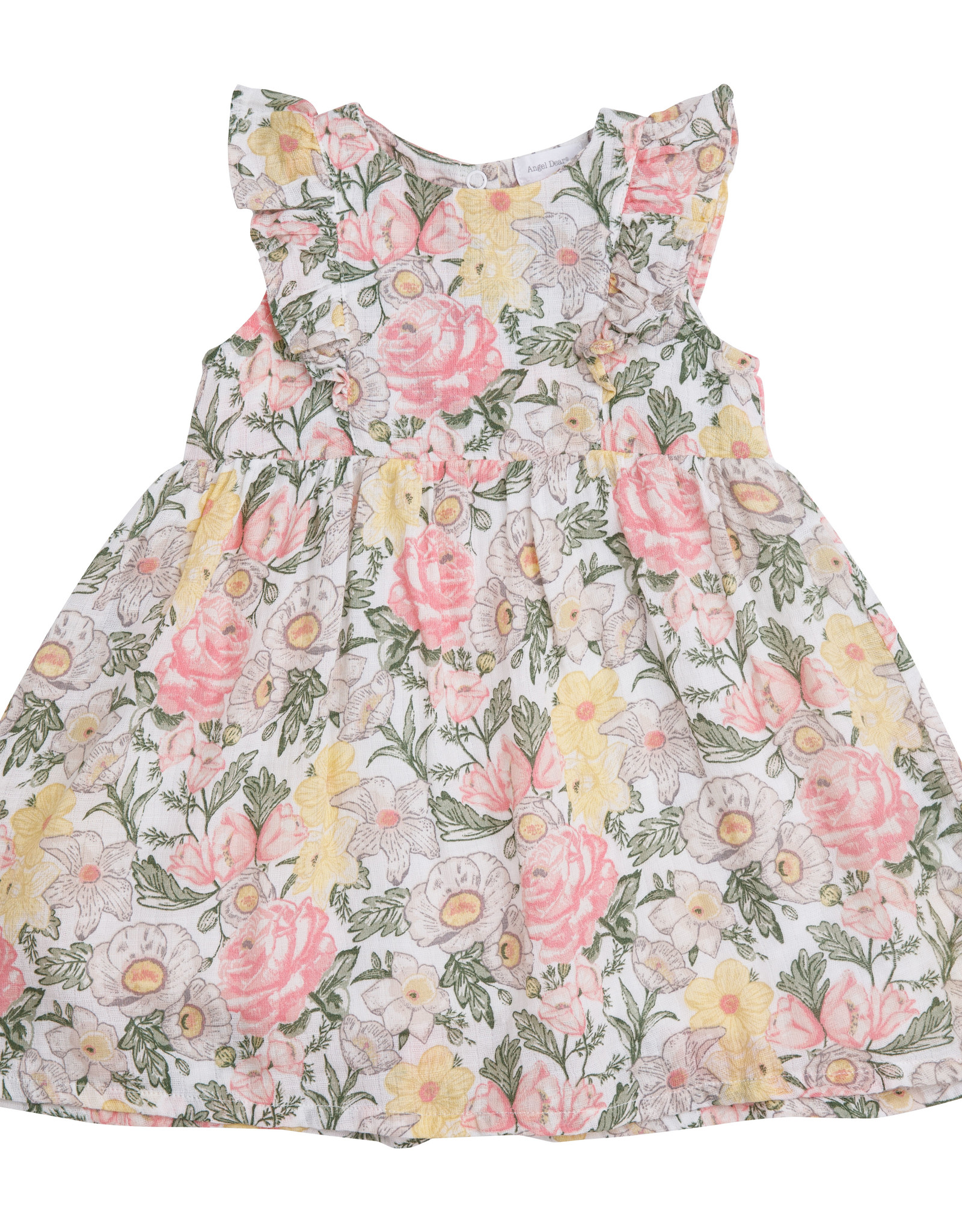 Angel Dear Angel Dear Traditional Floral Dress