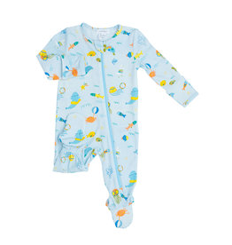 Angel Dear Angel Dear Sea Creatures Zipper Footie
