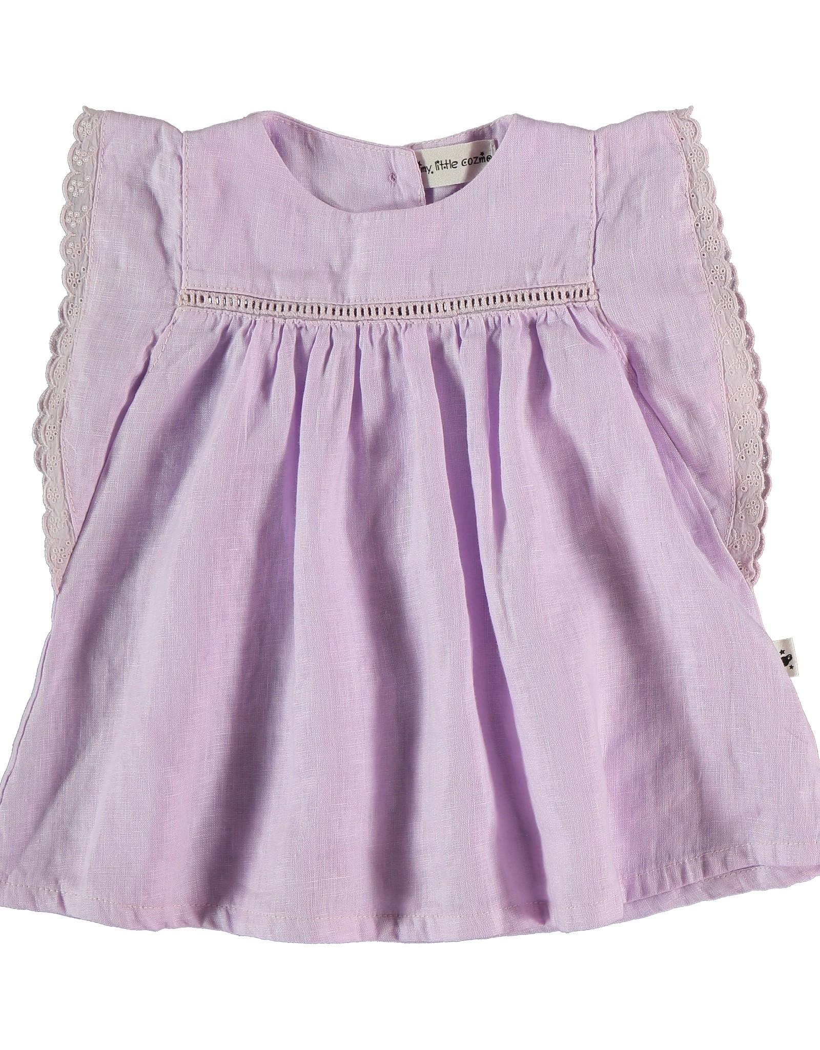 My Little Cozmo My Little Cozmo Novah Linen Dress