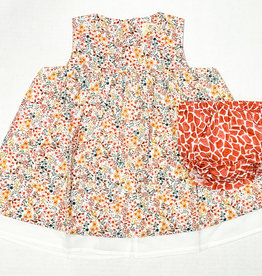 Petit Indi Petit Indi Floral Dress w Culotte