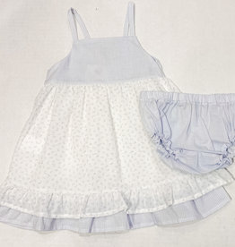 Petit Indi Petit Indi Floral/Stripe Dress w Culotte