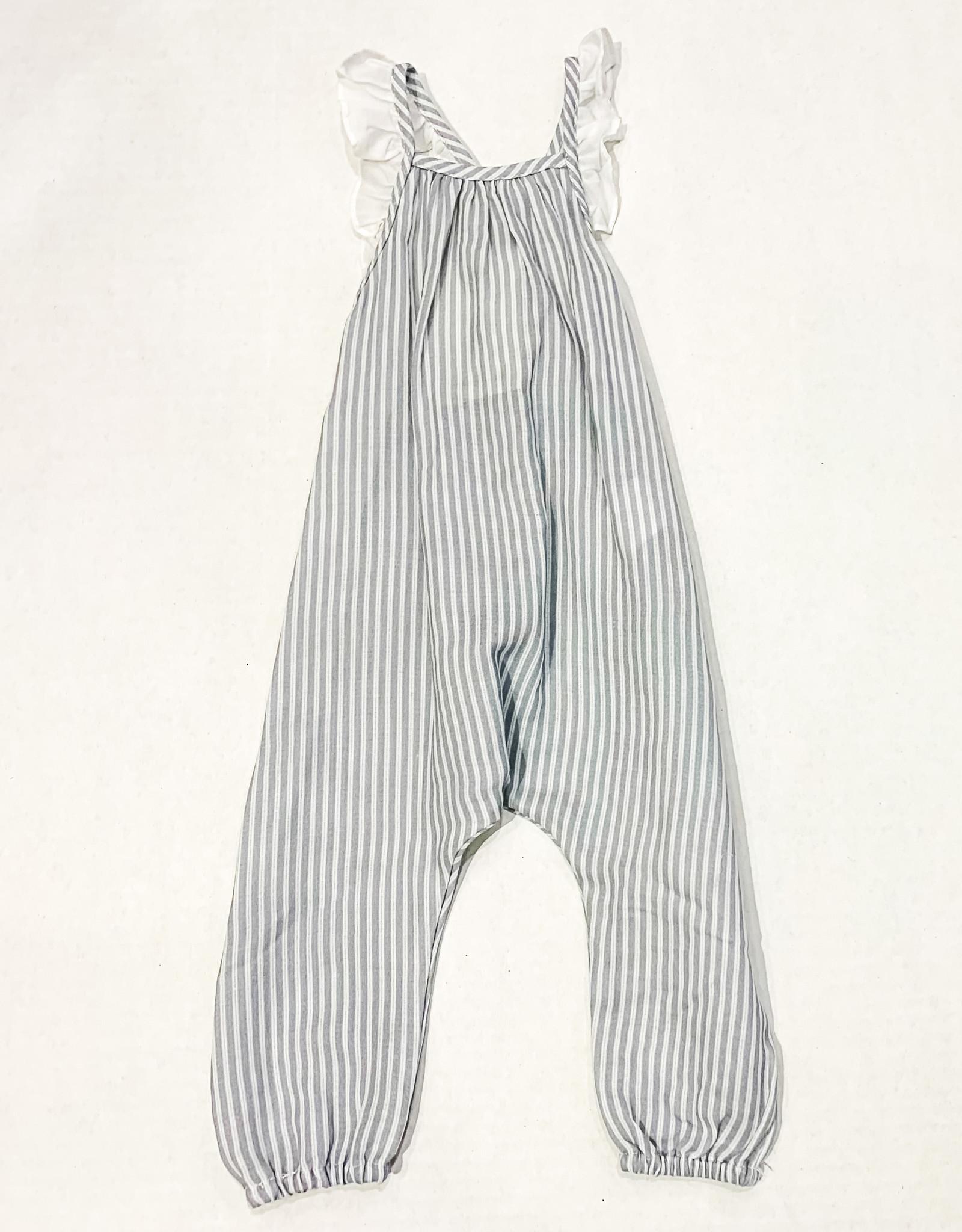 Petit Indi Petit Indi Striped Overalls