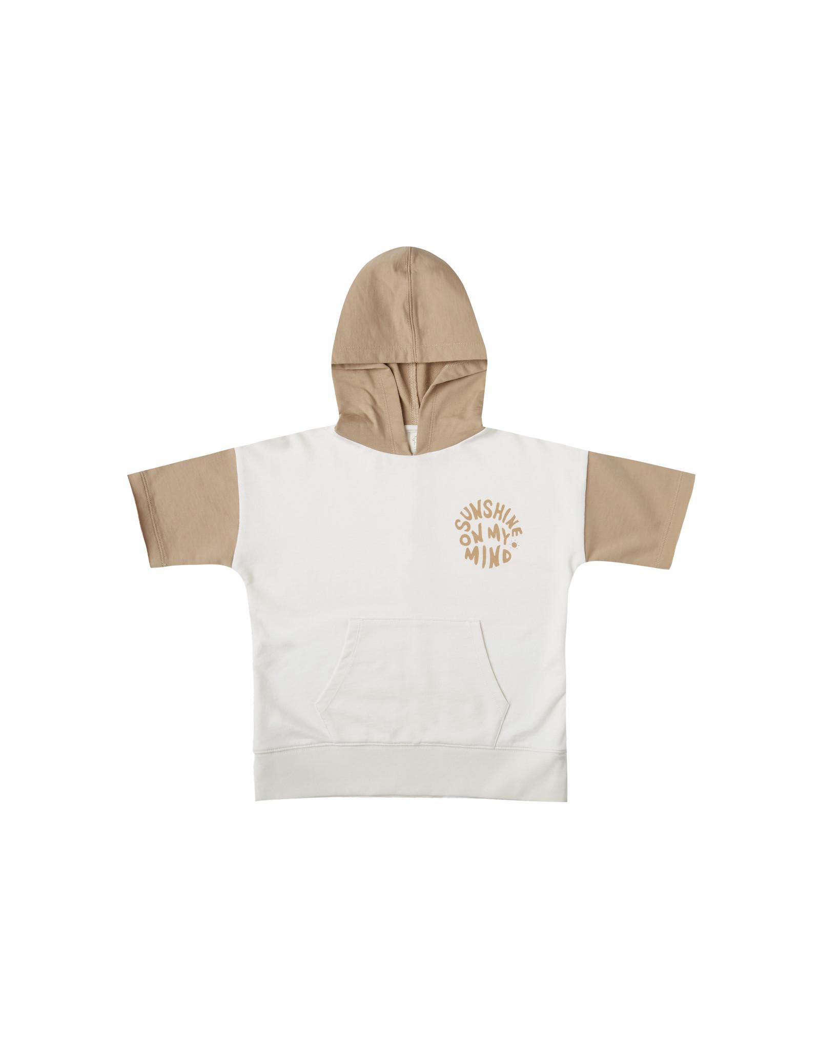 Rylee + Cru Rylee + Cru Short Sleeve Hoodie