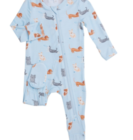 Angel Dear Angel Dear Puppy Play Zipper Footie