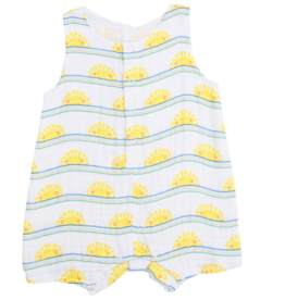Angel Dear Angel Dear Sun Stripe Shortie Romper
