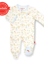 Magnetic Me Magnetic Me Organic Cotton Footie, Land Down Under