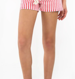tractr tractr Mid-Rise Nautical Stripe Shorts