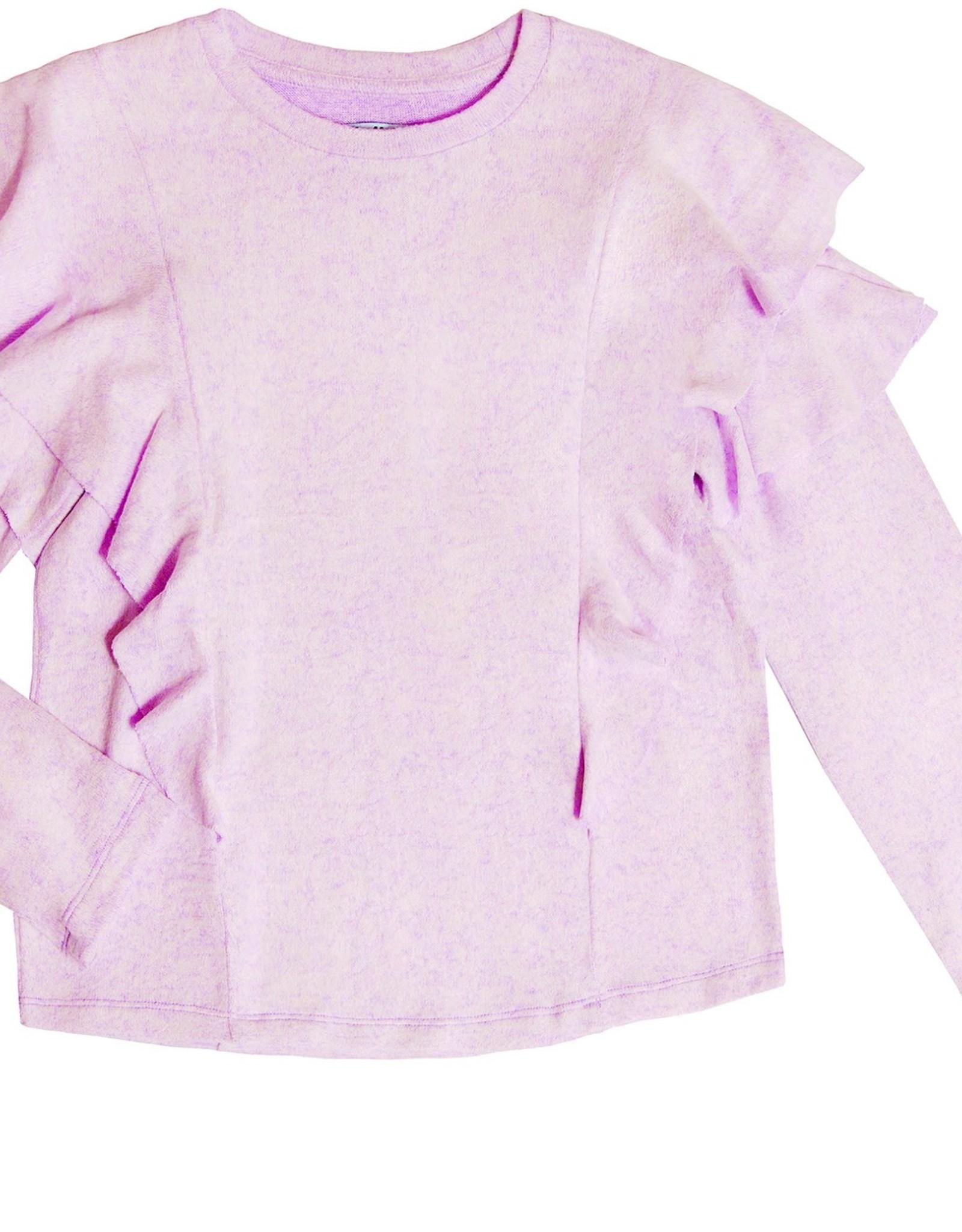MIA NEW YORK MIA NEW YORK Double Ruffle Sweater