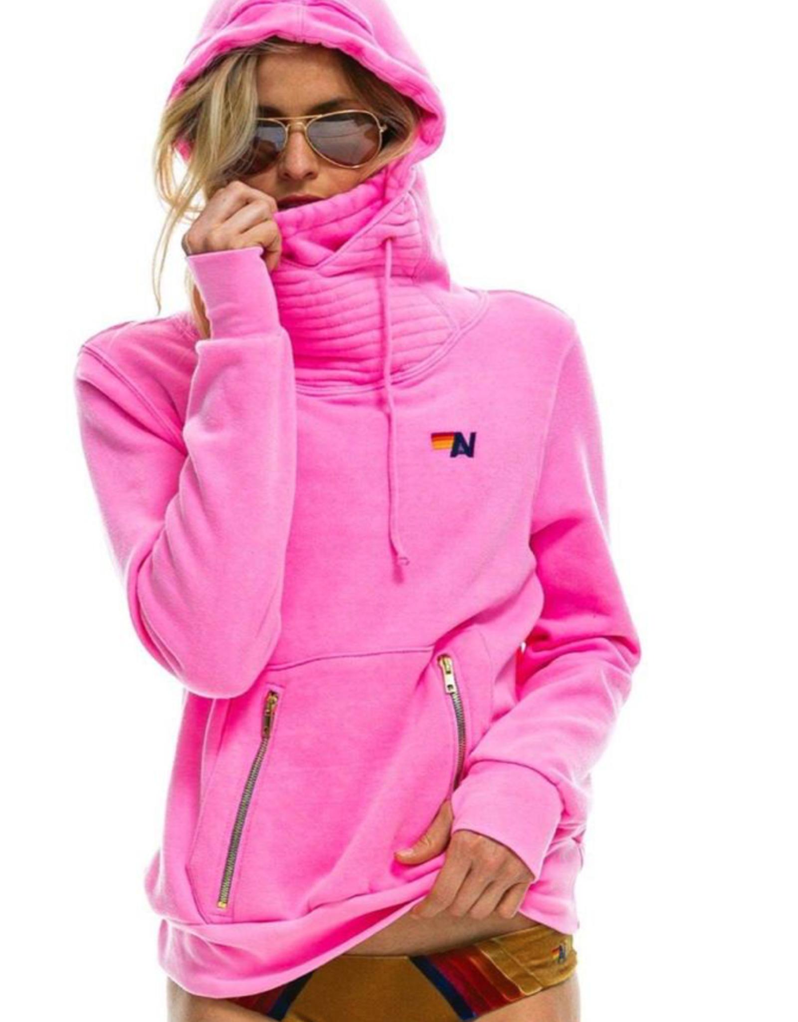 Aviator Nation Aviator Nation Ninja Pullover - Neon Pink