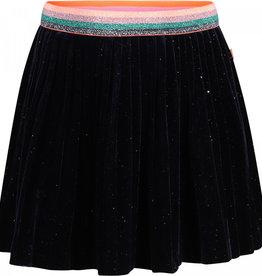 Billieblush Billieblush Glitter Velvet Pleated Skirt