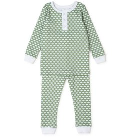 Lila and Hayes Lila + Hayes Jack 2 PC Henley Top PJs