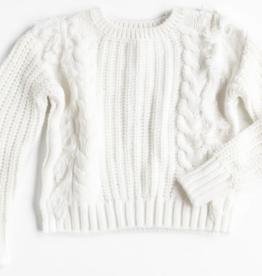 Design History Design History Fringe Detail Sweater