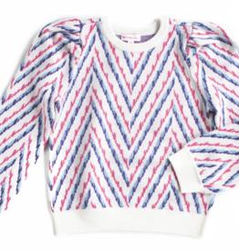 Design History Design History Chevron Sweater