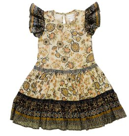 Lucky Jade Lucky Jade Batik Border Twirl Dress