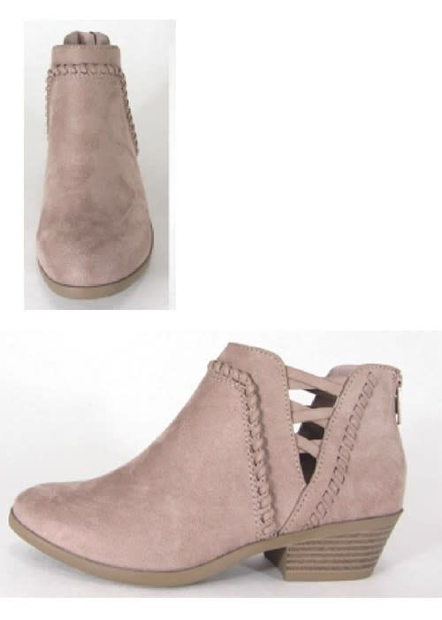 O Limit Fashion Sincere Blush Bootie