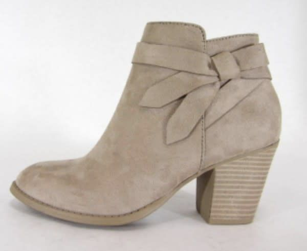 O Limit Fashion Arden Taupe Bootie