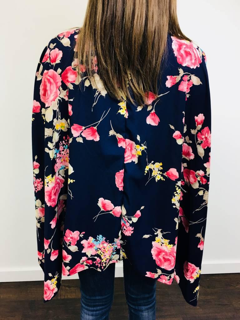 0 Styleholic Floral Kimono Cardigan