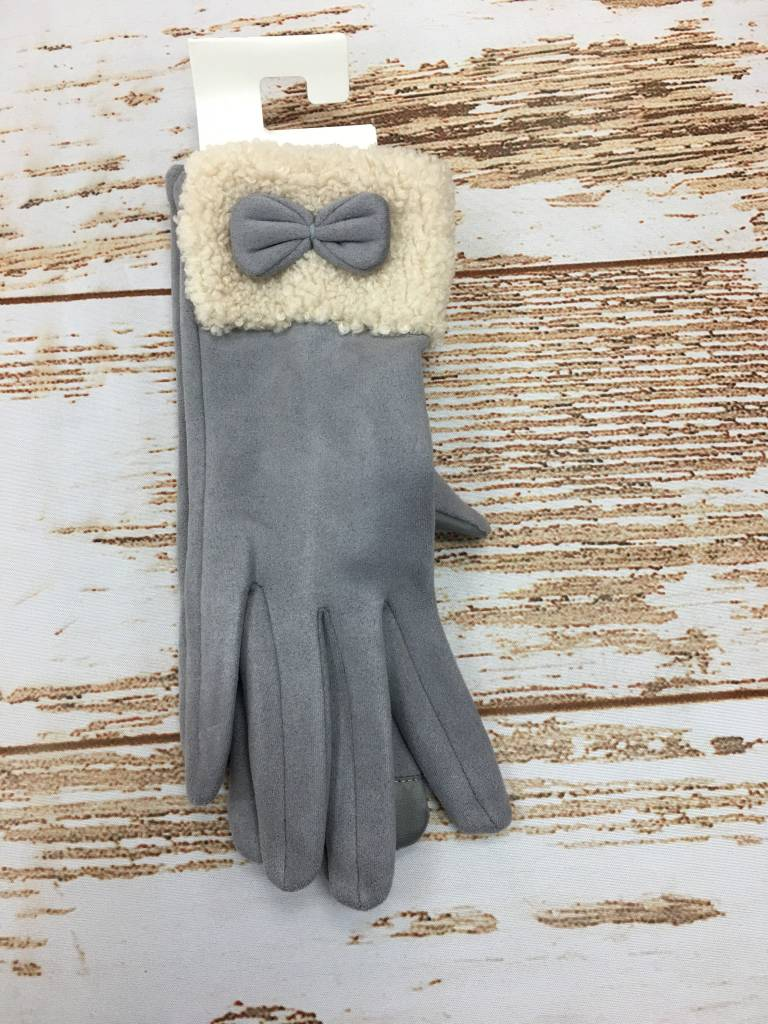 Occassionally Made Sherpa Glove Grey