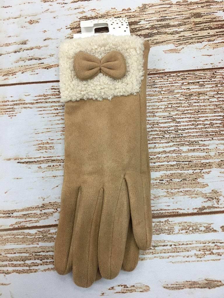 Occassionally Made Sherpa Glove Tan