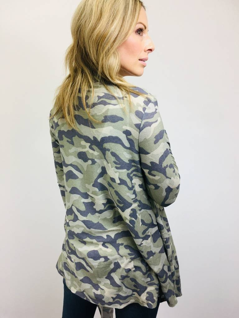 Downeast Casual Camo Duster
