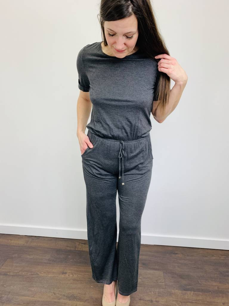 Downeast Just that Simple Jumpsuit