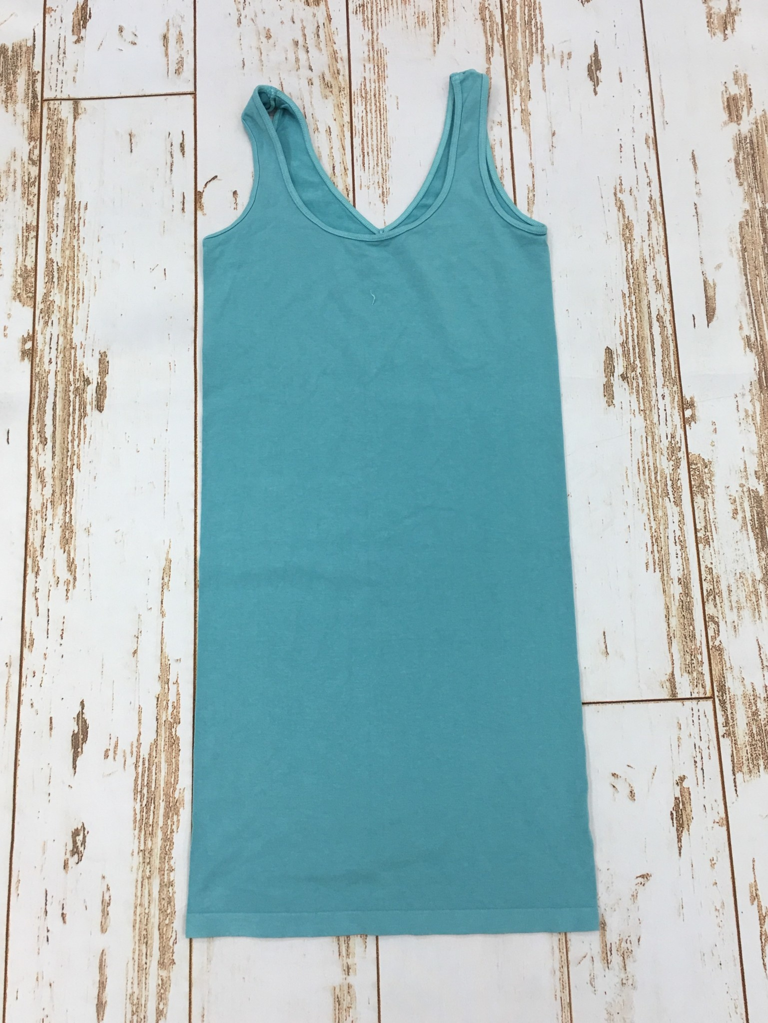 M Rena Tank Dress Aqua Blue
