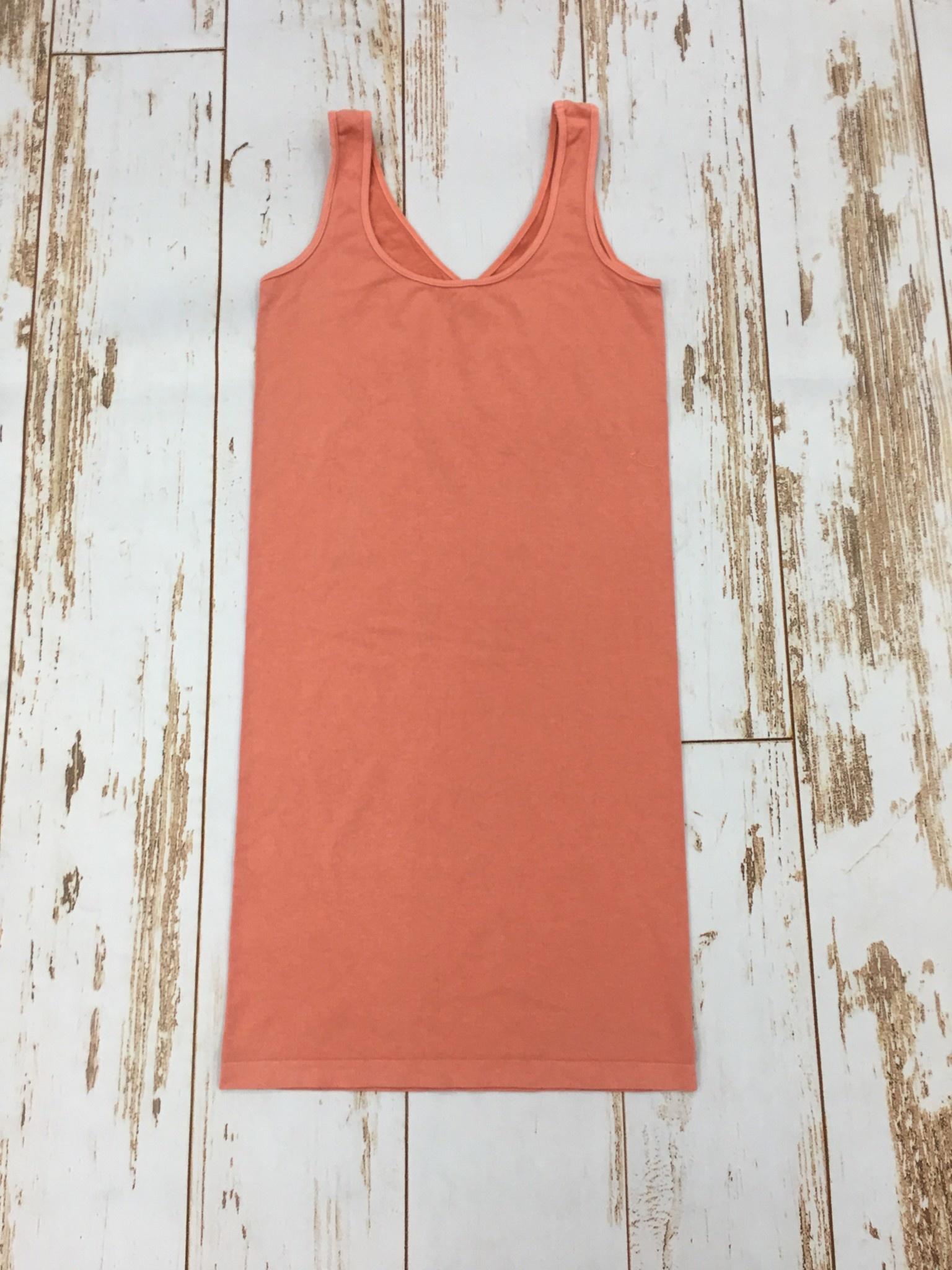 M Rena Tank Dress Terracotta