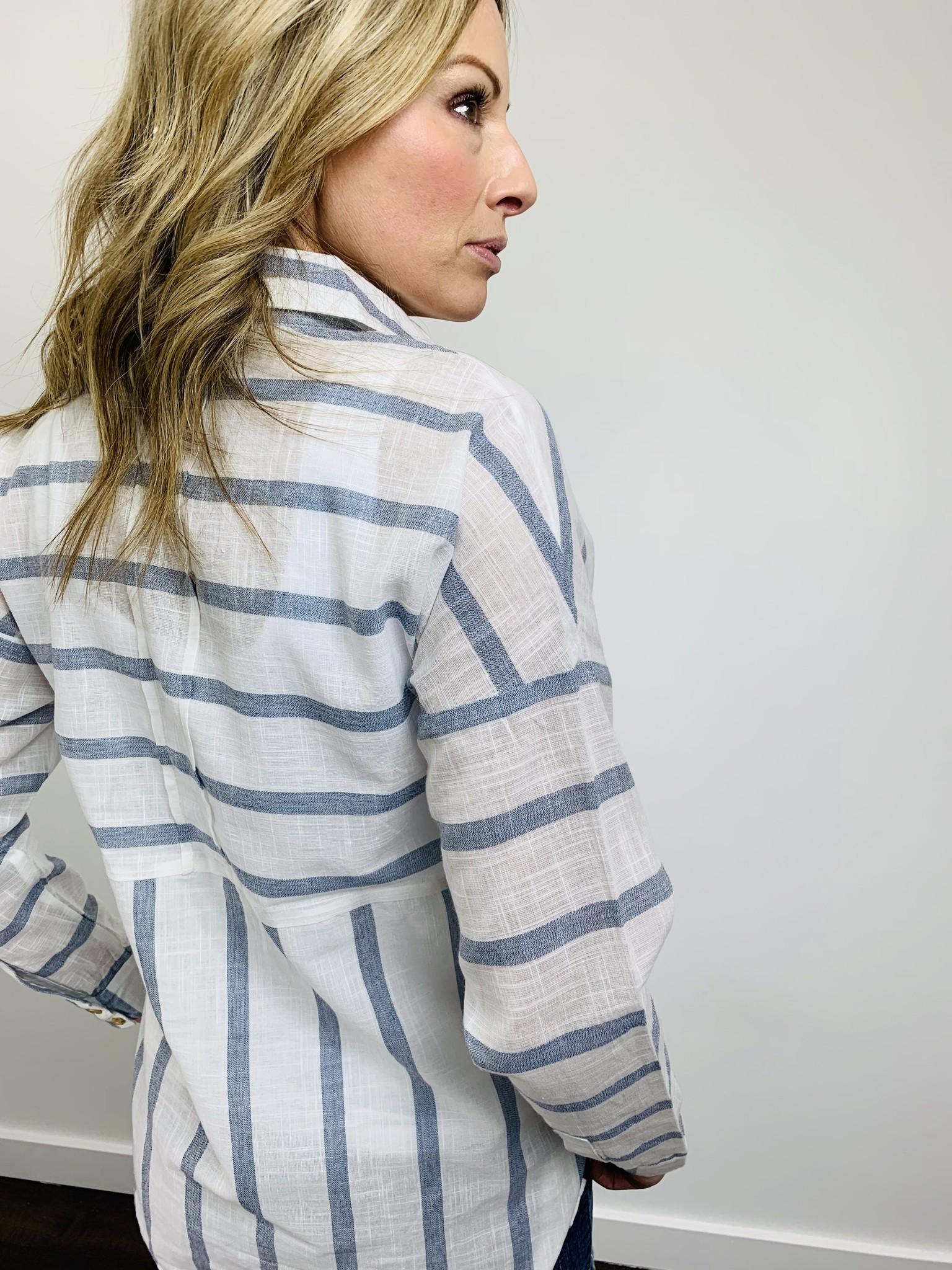 Dex Sailor Stripe Woven