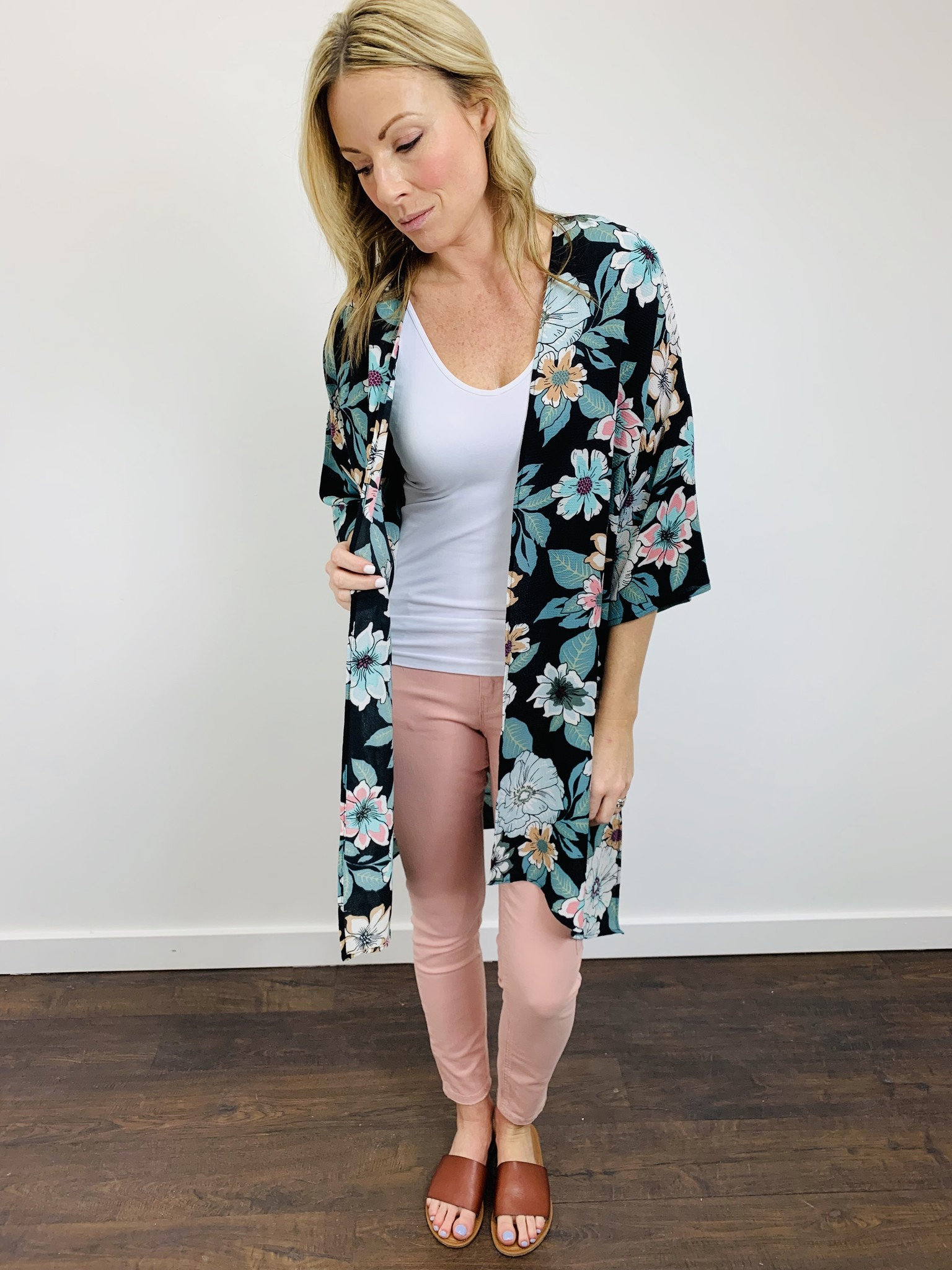 Dex Super Skinny Ankle in Pink Orchid