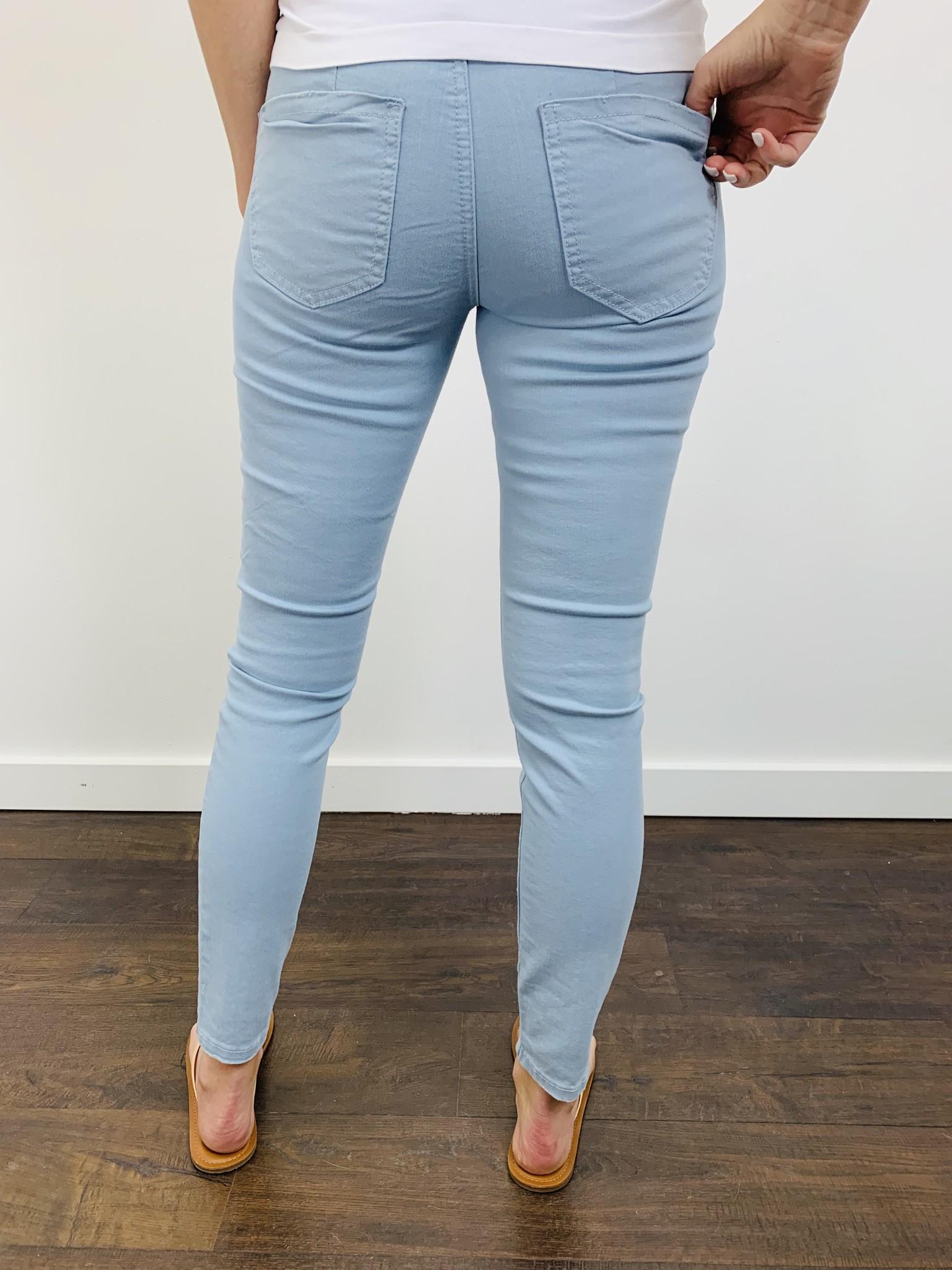 Dex Super Skinny Ankle in Light Blue