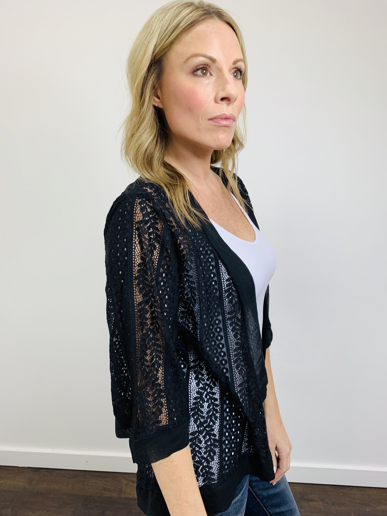 Papillon All Over Lace Cardi