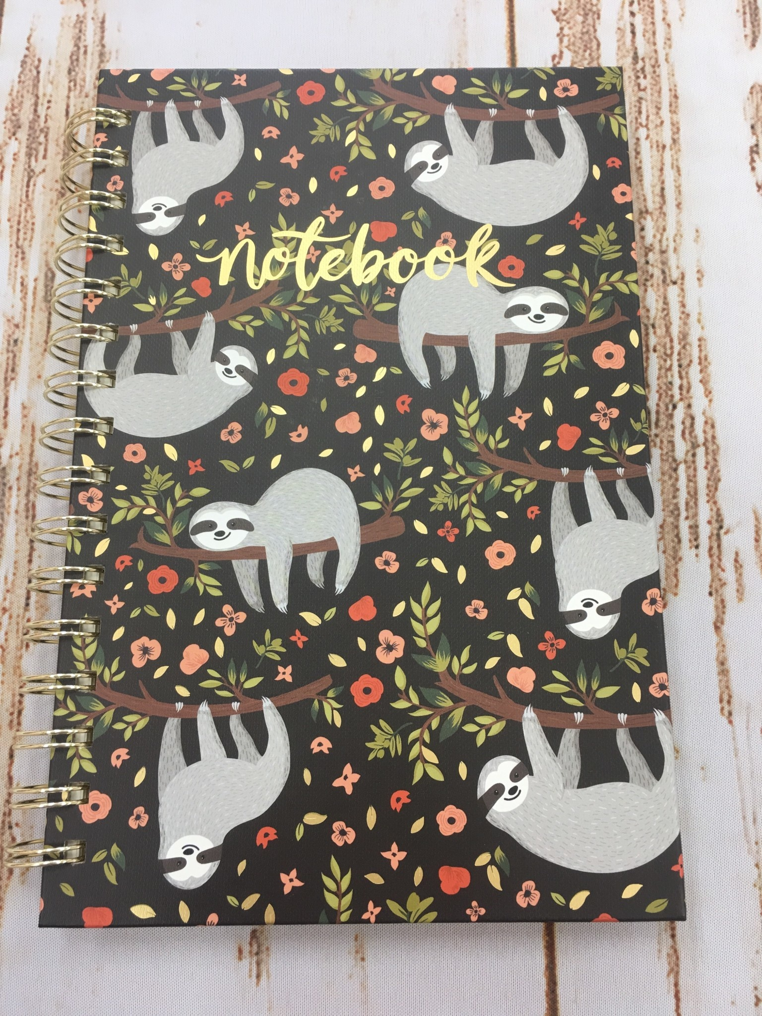 Studio Oh! Sloth Life Notebook