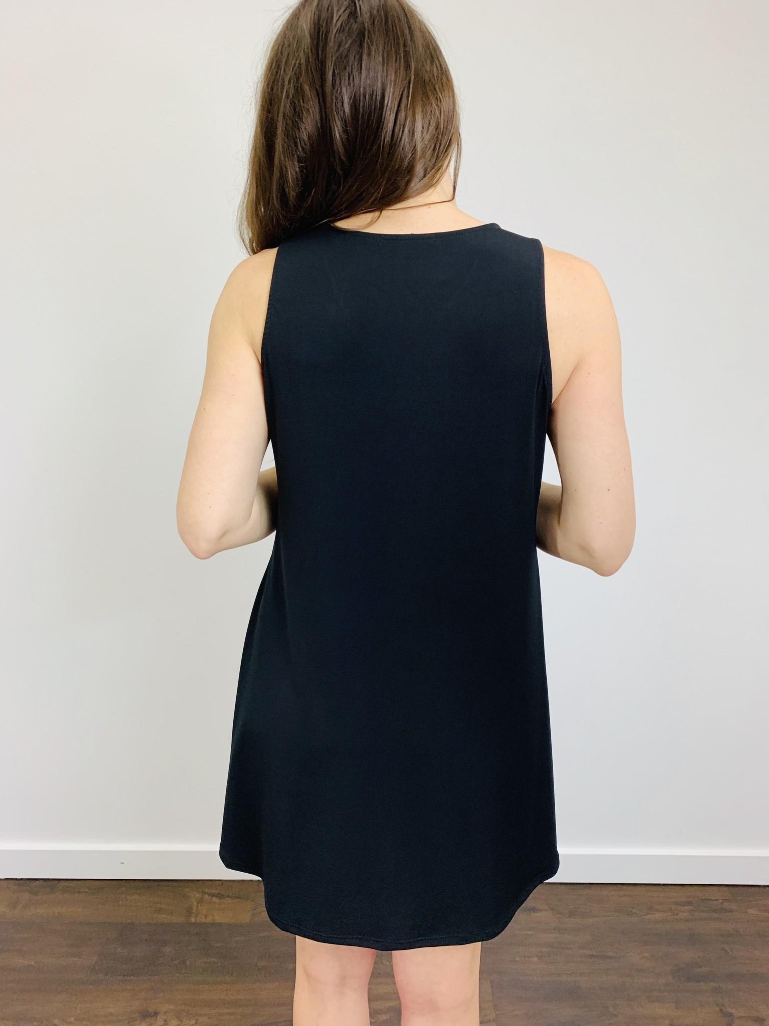 Ariella Big Zipper Dress