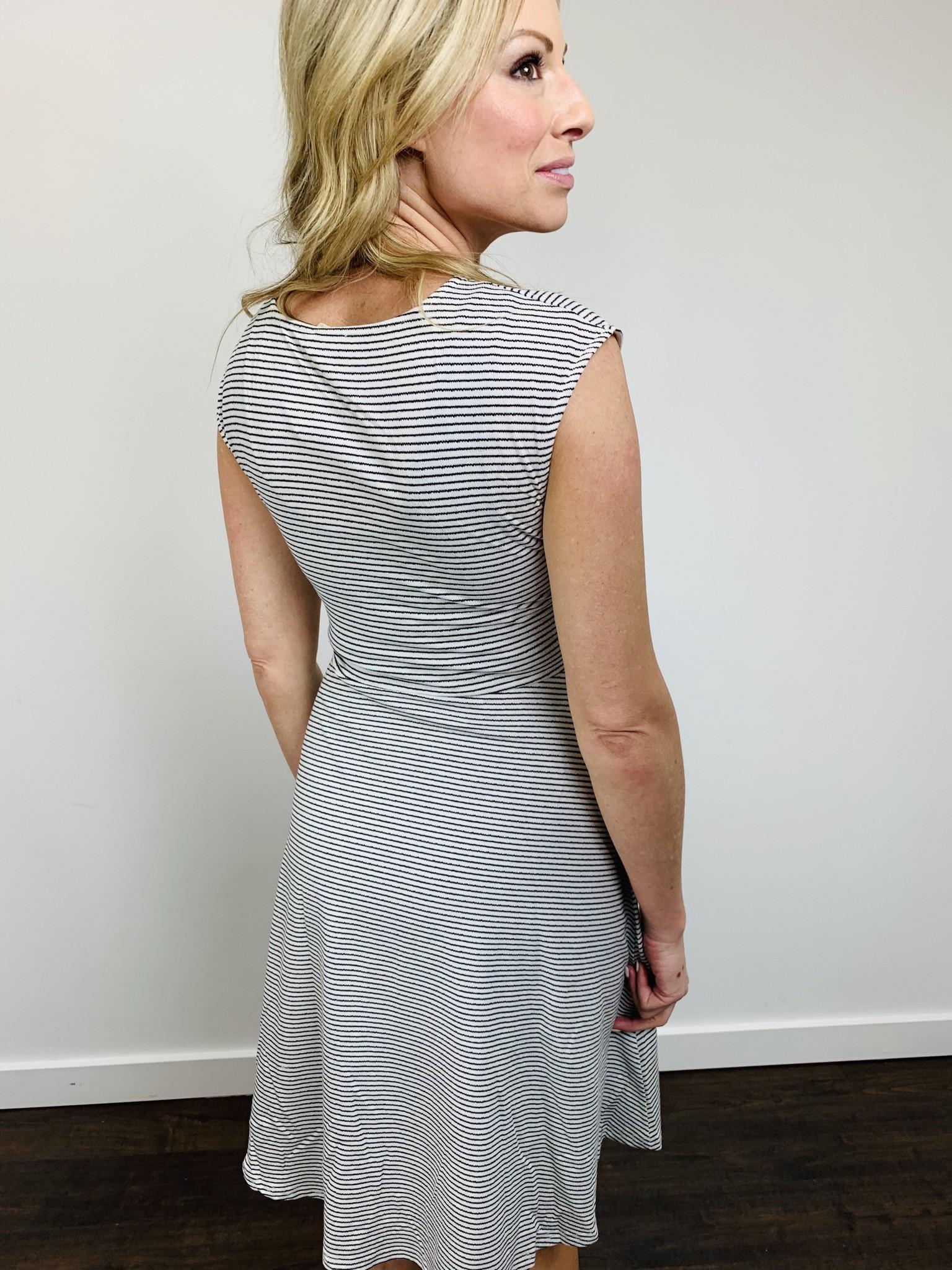 Hem & Thread Twist Waist Dress