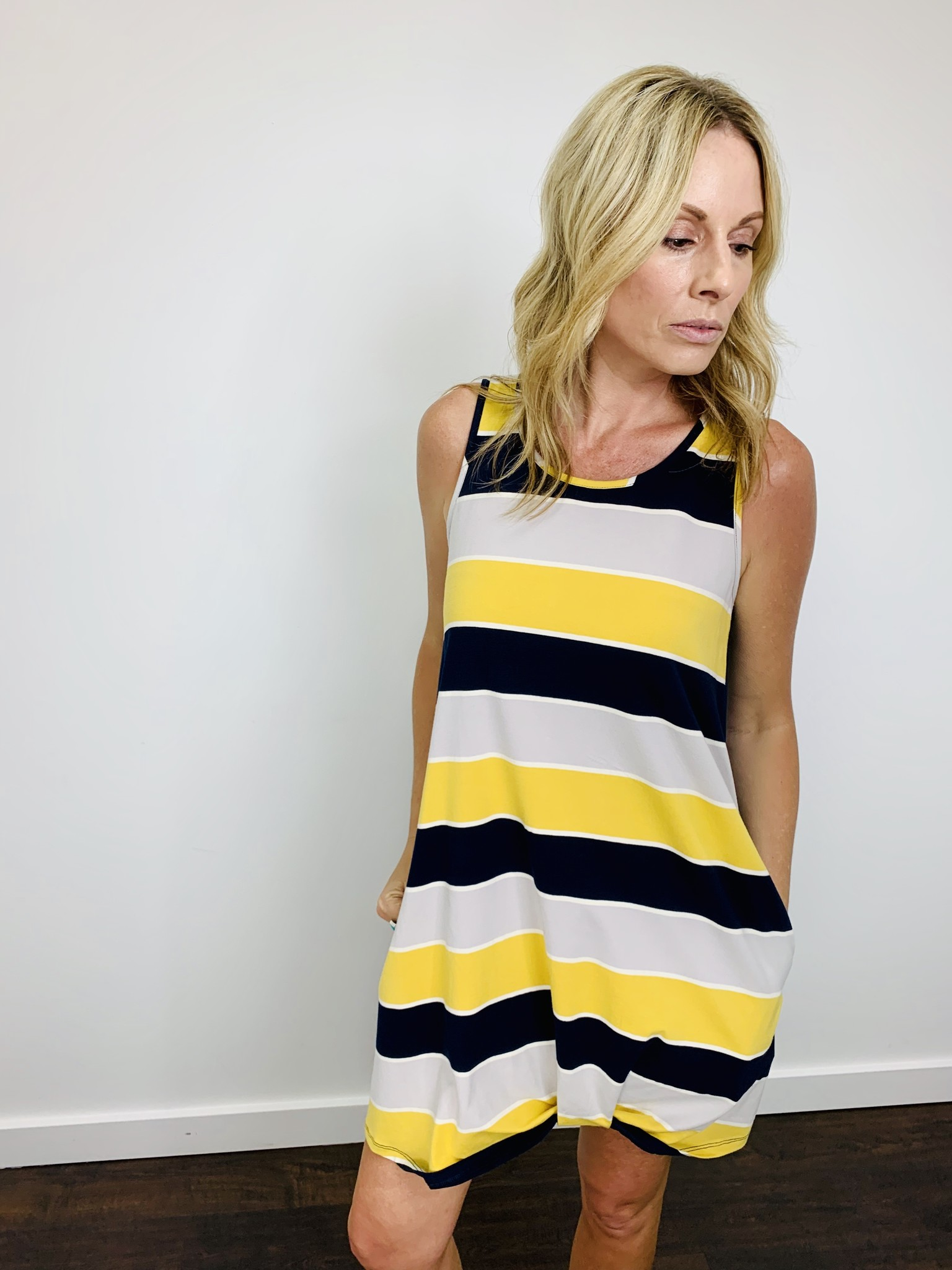 Hem & Thread Colorblock Dress