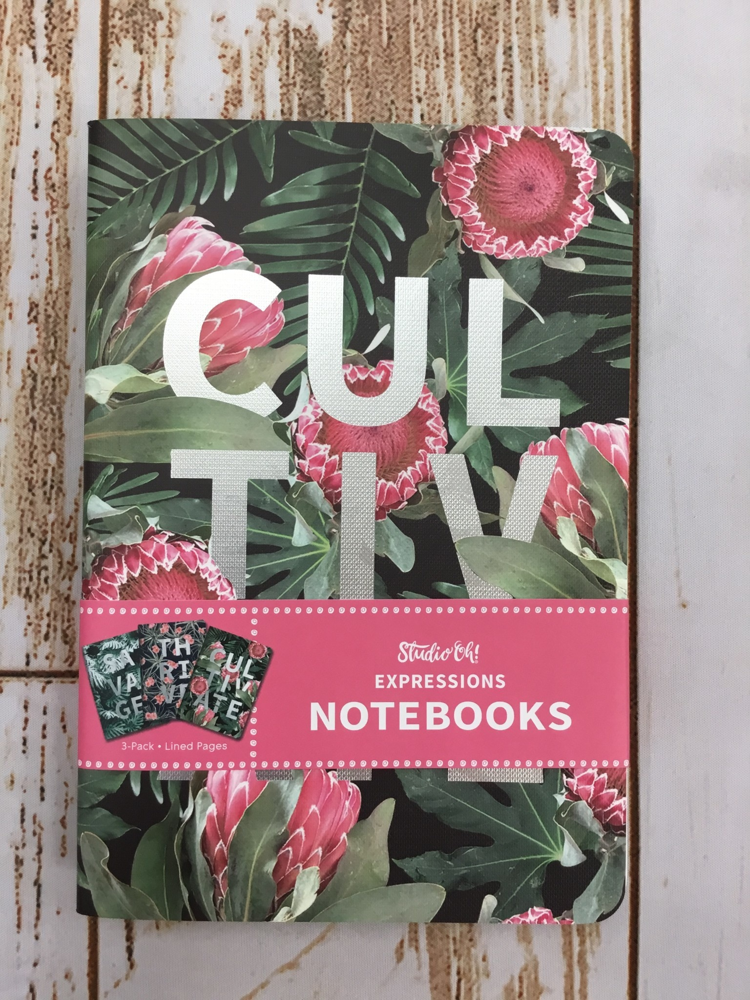 Studio Oh! Cultivate Notebook Trio