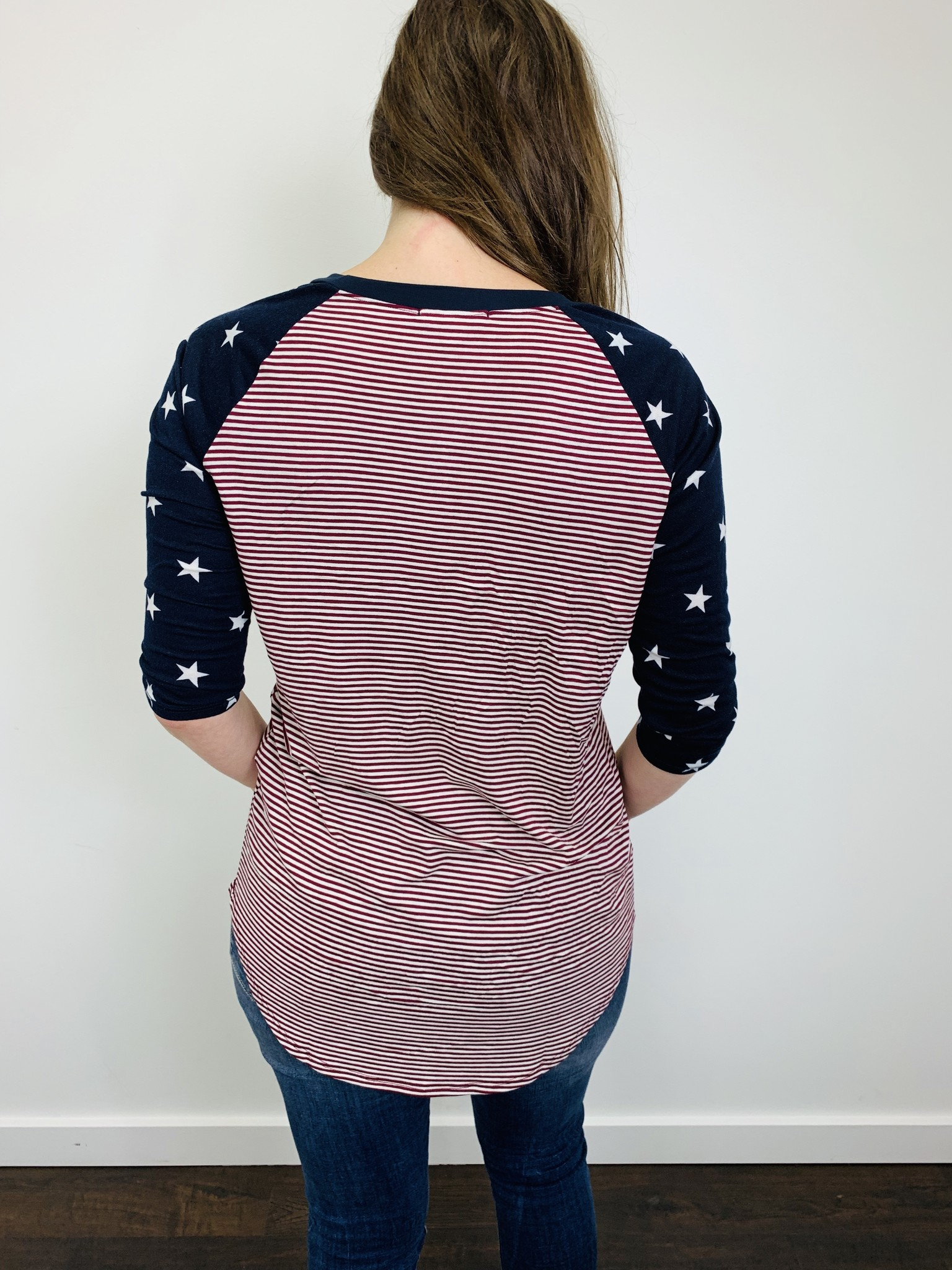 Downeast Ball Game Tee in Forever Stars