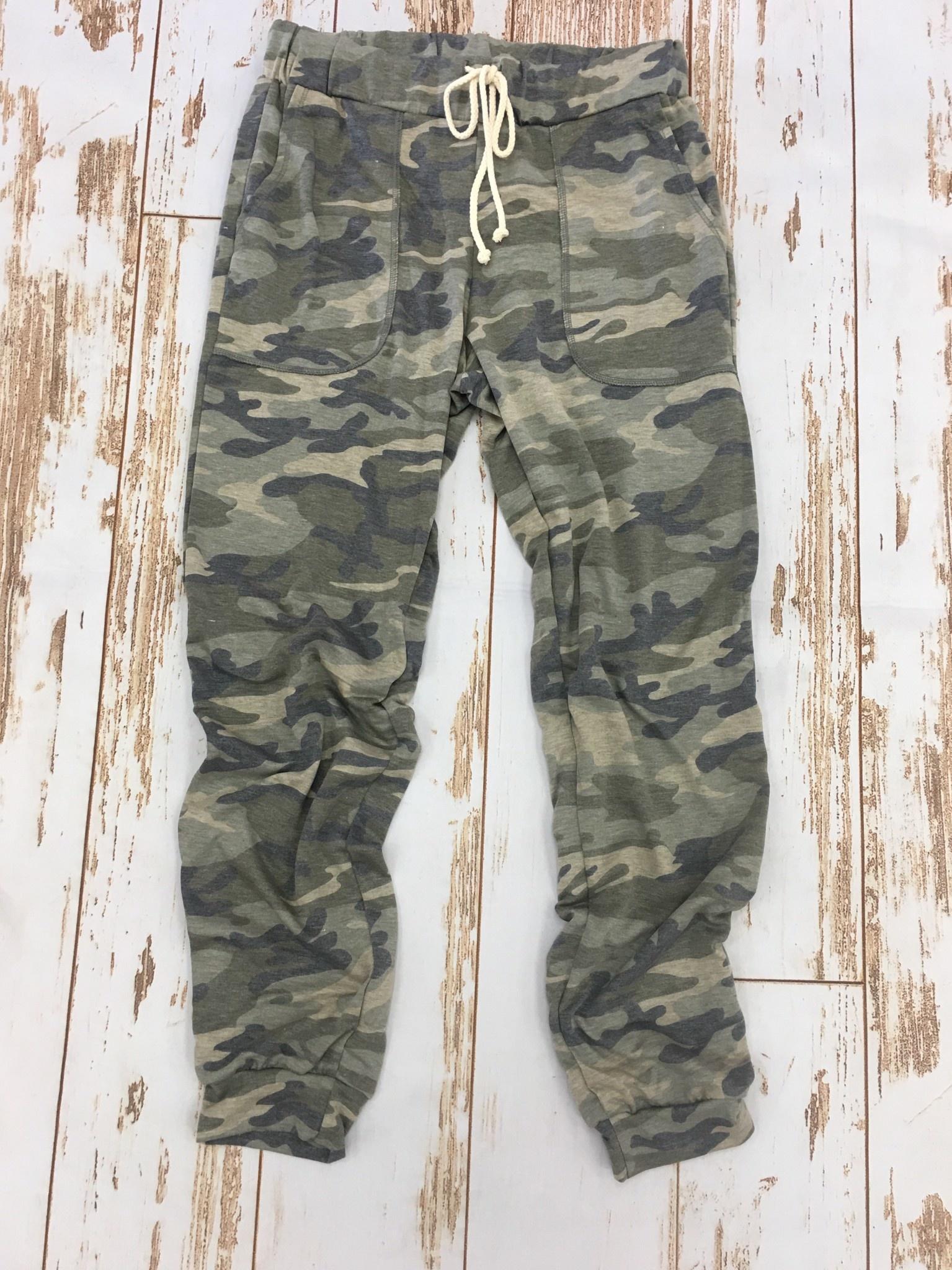 Entro Camo Pant Army Green