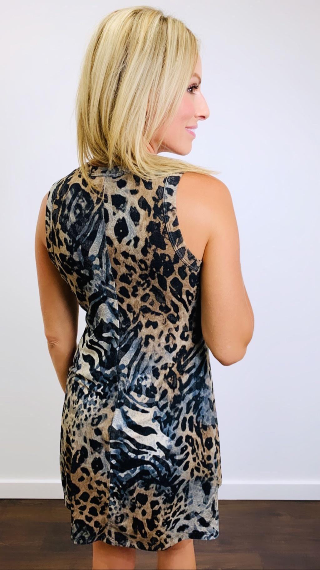 KLD Leopard Tank Dress