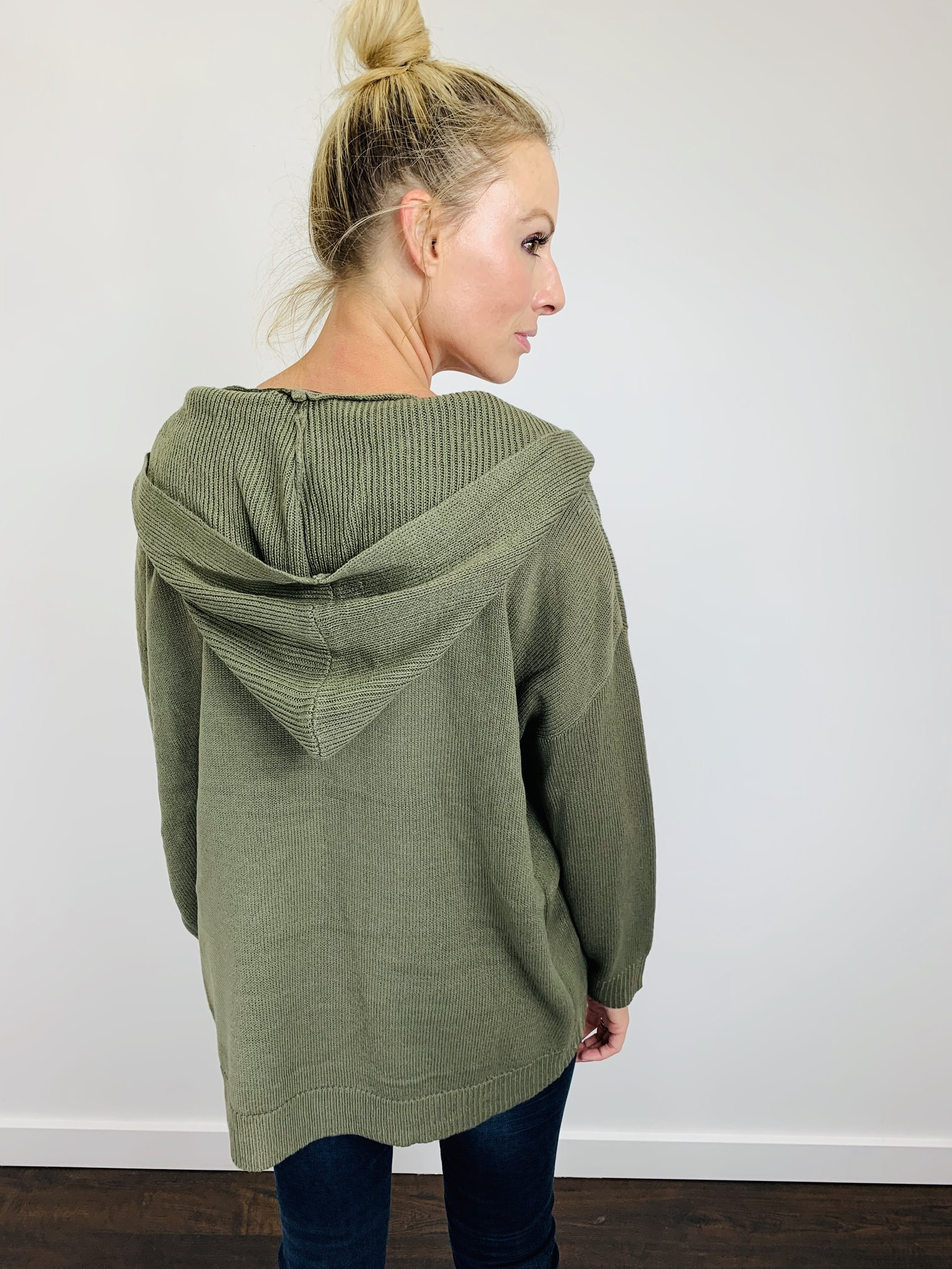 KLD Olive Slouchy Sweater