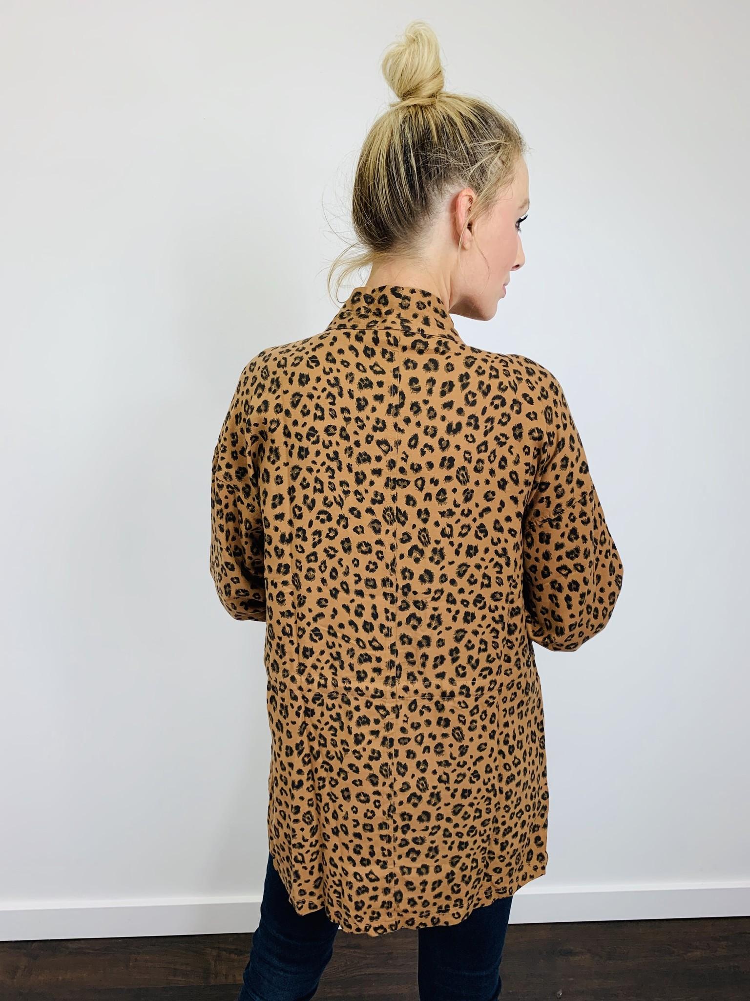 Dear John Leopard Jacket