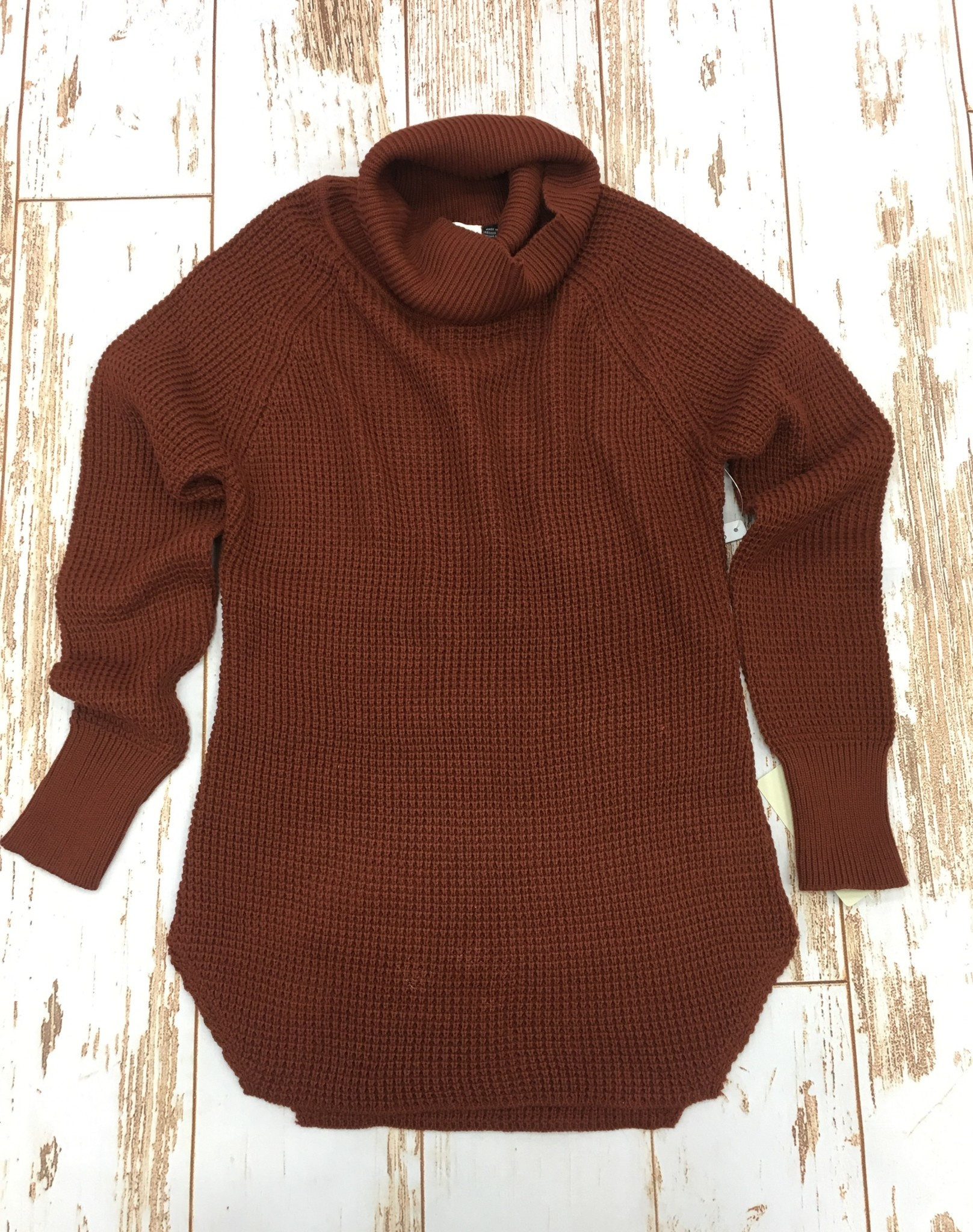 RD Style Cowl Spice Sweater